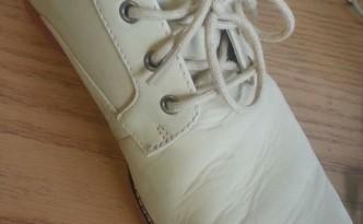 Как убрать складки с кожаных ботинок